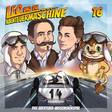CD Cover Leo und die Abenteuermaschine Folge 16
