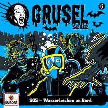 CD Cover Gruselserie Folge 6