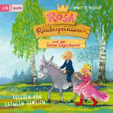 CD Cover Hörbuch Rosa Räuberprinzessin Lügenbaron