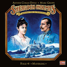 CD-Cover Sherlock Holmes Mayerling