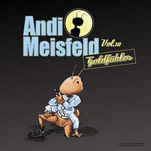 CD Cover Andi Meisfeld Goldfühler