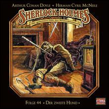CD Cover Sherlock Holmes Folge 44