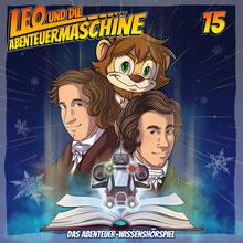 CD Cover Leo und die Abenteuermaschine Folge 15
