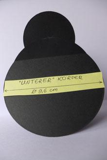 Marienkäfer-Grußkarte