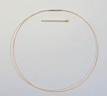 Flexibler Halsreif vergoldet