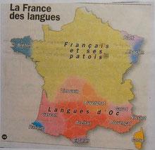 Les langues parlées en France