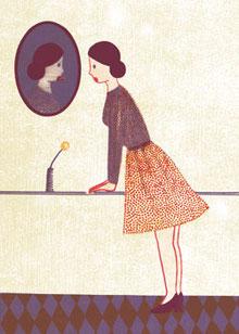 Anmut, Illustration für die Büchergilde Gutenberg 2010