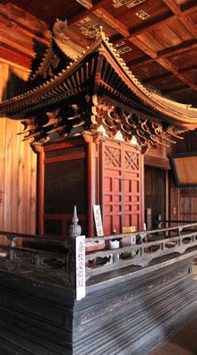 大法寺 重要文化財 厨子および須弥壇