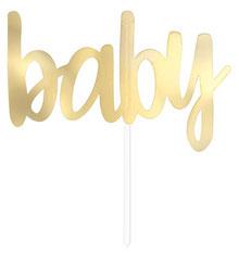 "Taart Topper ""Baby"" € 1,95 p.st.  ca. 15x10cm"