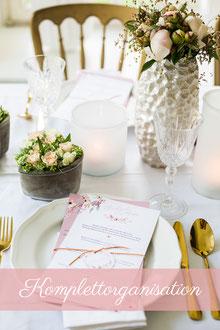 Komplettorganisation Hochzeitsplanung