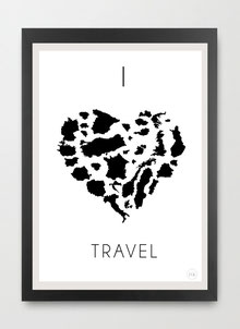 I love Travel by Gary Reddin