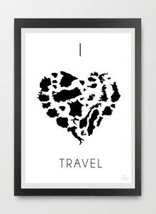 I love Travel by Gary Reddin