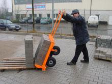 Paver Cart