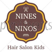 Logotipo Peluquería infantil