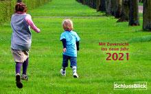 Postkarte mit Logo 'SchlussBlick'
