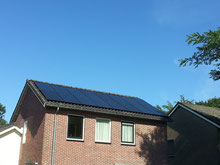 16 x Zonnepanelen Axitec Black met optimizers