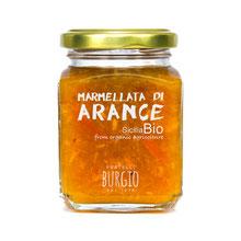 Marmelada de naranjas BIO en bote de 212gr (8,35€ und)