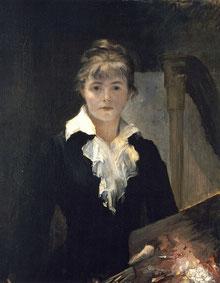 Autoportrait à la palette (1880) © Musée des Beaux-Arts Jules Chéret (Nice)