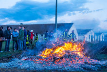 04.04.2015 Osterfeuer