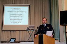 11.04.2015 Jahreshauptversammlung FFW