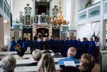 12.7.2013 Gospelkonzert in der Kirche Kleinbrembach