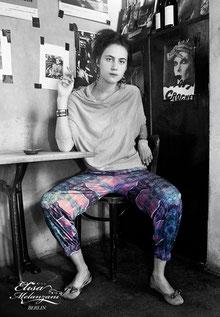 patterned bloomers - unique © ELISA MELANZANI BERLIN