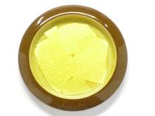 九谷焼 引き手 銀彩黄色