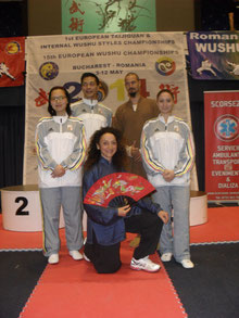 Avec l'équipe de Belgique - EWUF Championships 2014 - ROMANIA