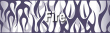 トライバル 炎・ファイヤー・TRIBAL FIRE