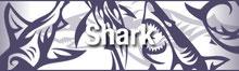 トライバル 鮫・サメ・シャーク・TRIBAL SHARK