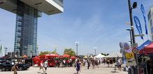 Radsportfest am Harry-Blum-Platz