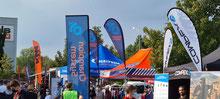Mini-Expo in Eschborn an Ausgabe Startnummern