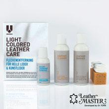 UCare light Colored Leather Care Maxi Kit