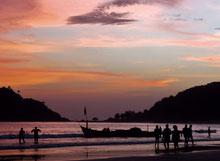 Strand Goa Indien grenzenlosunterwegs