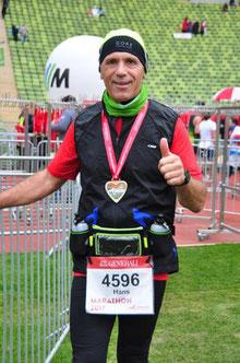 Mein erster Marathon - München 2017