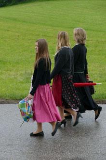 Bezirksmusikfest Samerberg Kirchenzug