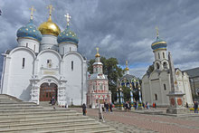 Kloster in Sergijew Possad, Gebiet Moskau