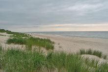 Strand an der Kurischen Nehrung in Russland