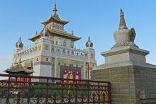 Buddhistischer Tempel in Elista, Republik Kalmückien
