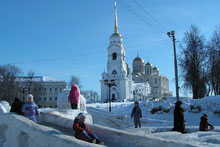 Kathedrale in Wladimir, Russland