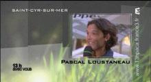 Pascal Natation sur France 3. Cliquez sur l'image pour voir l'interview