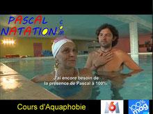 Pascal Natation cours d'aquaphobie La Ciotat dans 100%Mag sur M6