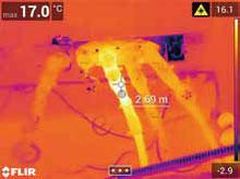レーザーアシストフォーカスと距離計測で、正確な計測をサポート
