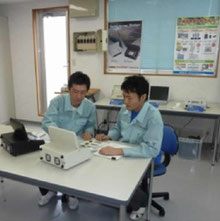 1.測定器の使用方法の講義