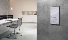 Büro-Türschilder und Infoschilder bis A3