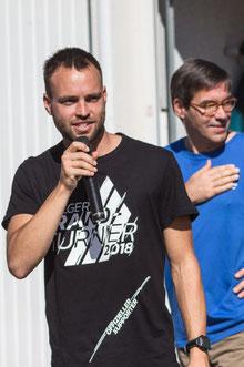 Turnierleiter Marco Feiler