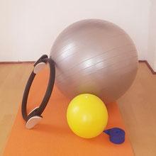 Matériel utilisé en cours de Pilates