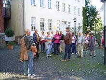 Stadtführung in Gießen // Foto: Gömmer