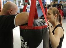 Trainer für Kickboxen in Wiener Neustadt, Martin Lautenschlager, Elisabeth Reithofer Kickboxing4L&M