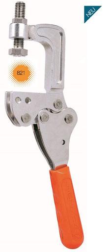 KUKAMET Schraubzwingenart-Schnellspanner mit senkrechtem Fuß